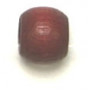 Wood Crowbeads 6/4.5mm Mahogany